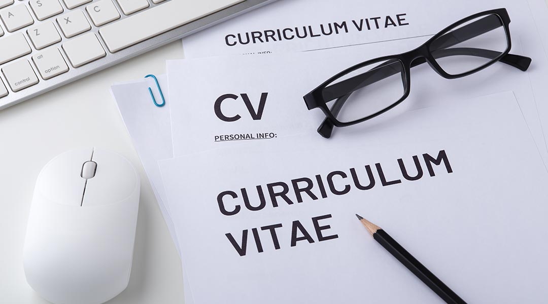document titled Curriculum Vitae